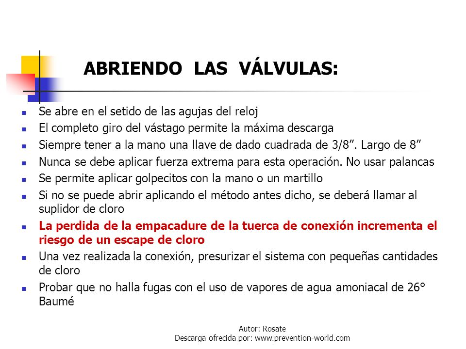 Autor: Rosate Descarga ofrecida por: www.prevention-world.com