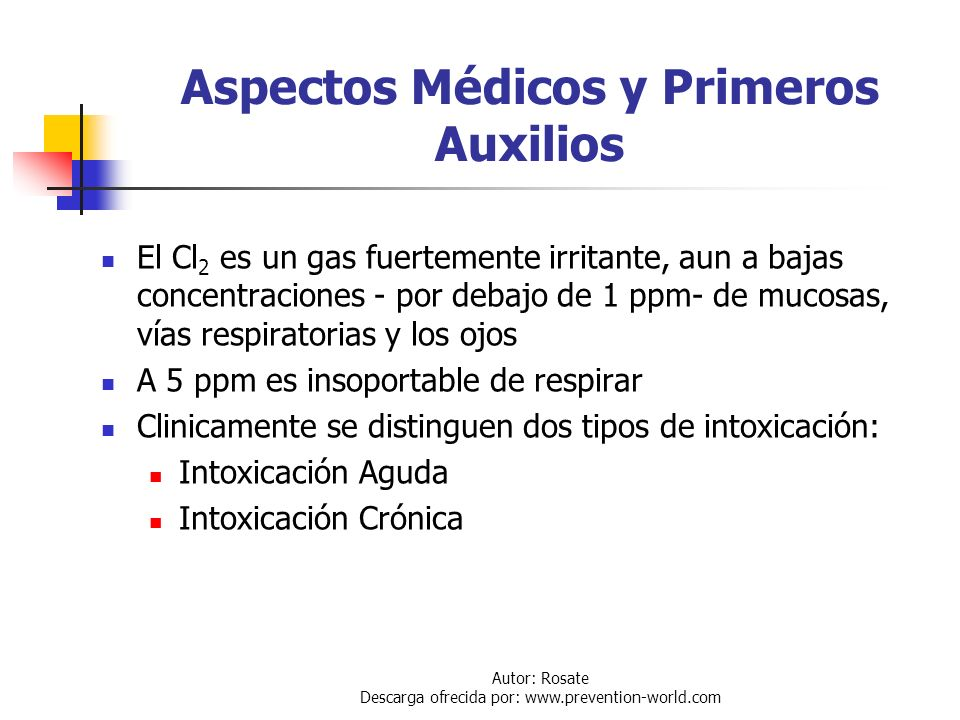 Aspectos Médicos y Primeros Auxilios