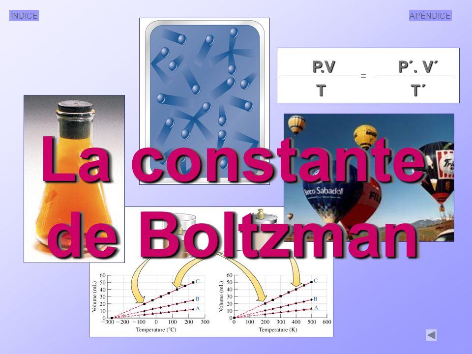 La constante de Boltzman