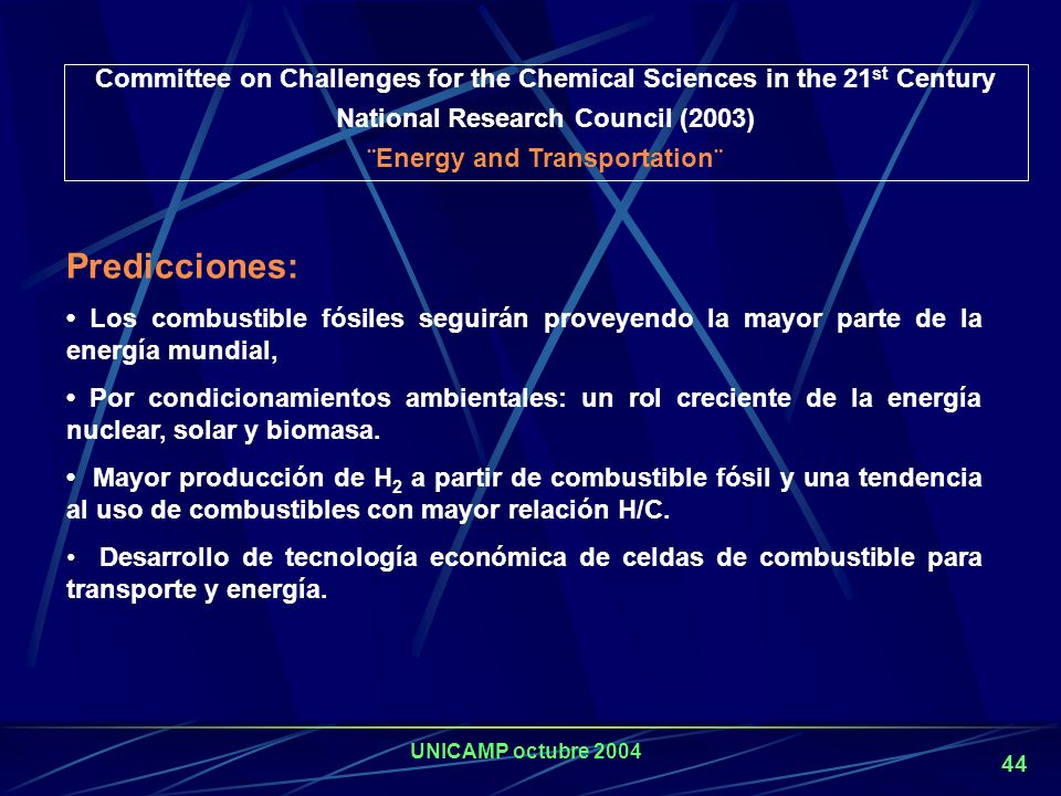 Committee on Challenges for the Chemical Sciences in the 21st Century