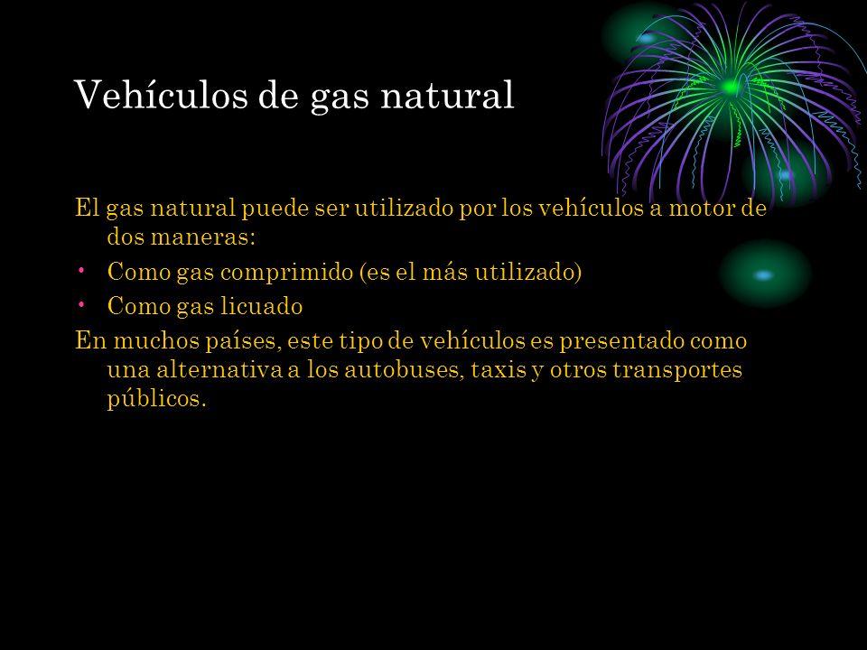 Vehículos de gas natural