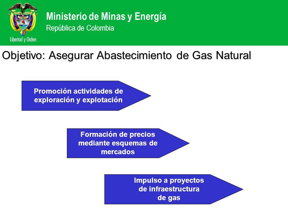 Objetivo: Asegurar Abastecimiento de Gas Natural