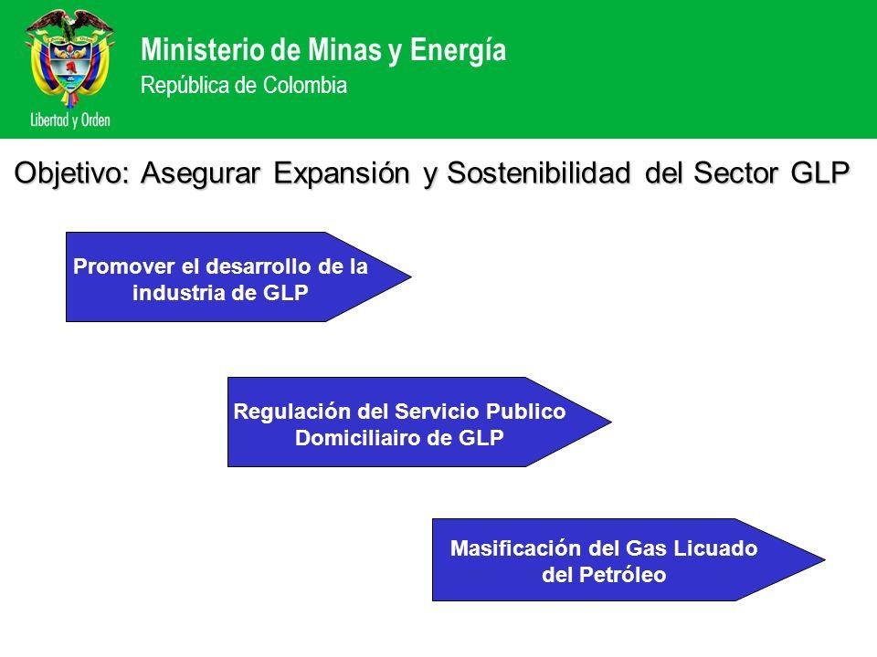 Objetivo: Asegurar Expansión y Sostenibilidad del Sector GLP