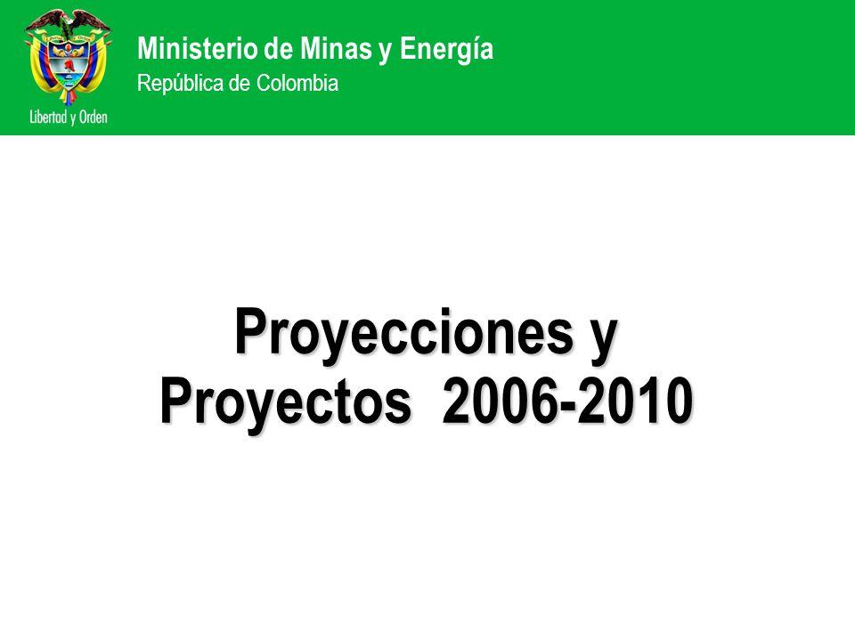 Proyecciones y Proyectos 2006-2010