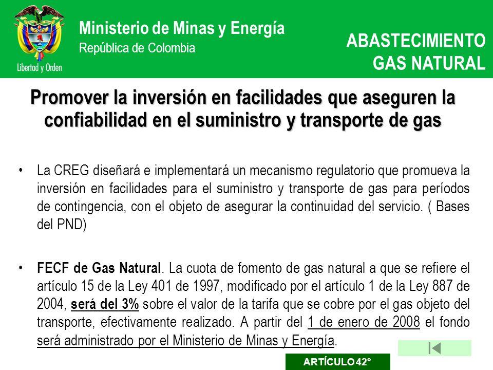 ABASTECIMIENTO GAS NATURAL