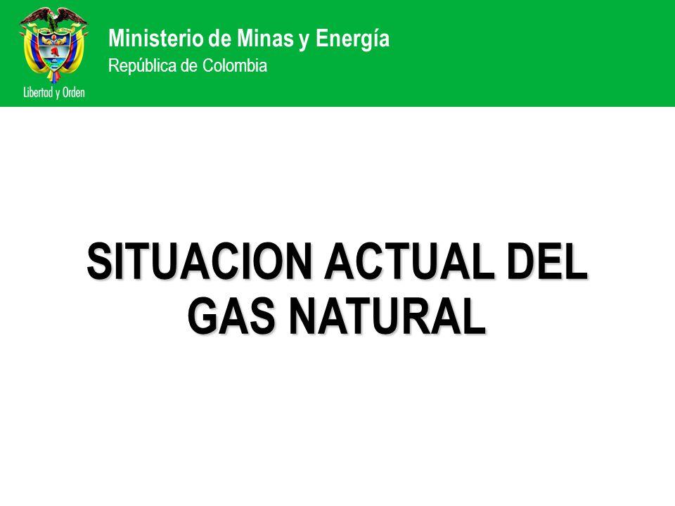 SITUACION ACTUAL DEL GAS NATURAL