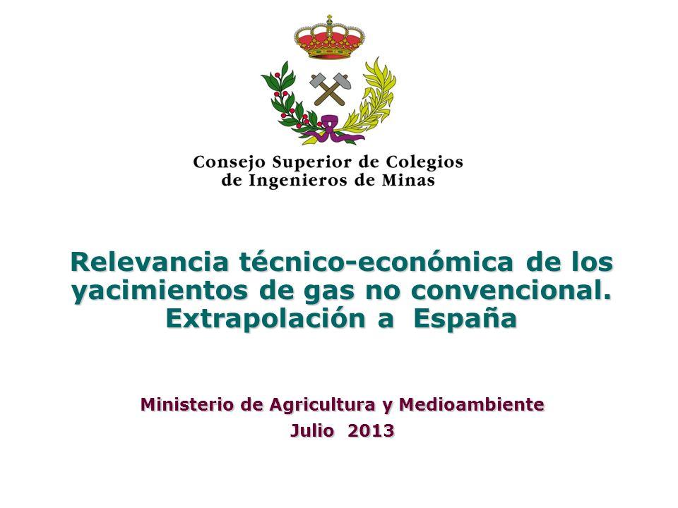 Ministerio de Agricultura y Medioambiente Julio 2013