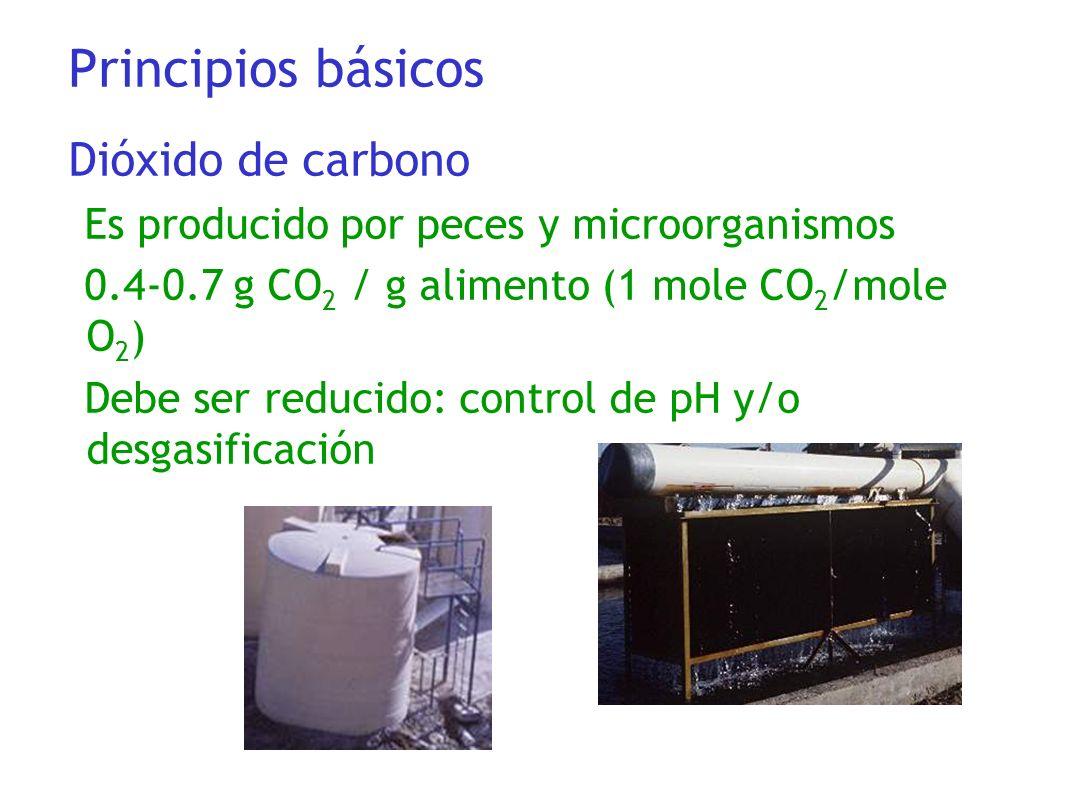 Principios básicos Dióxido de carbono