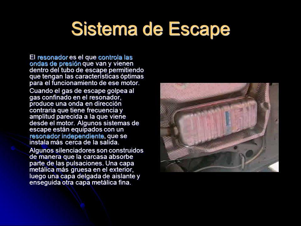 Sistema de Escape