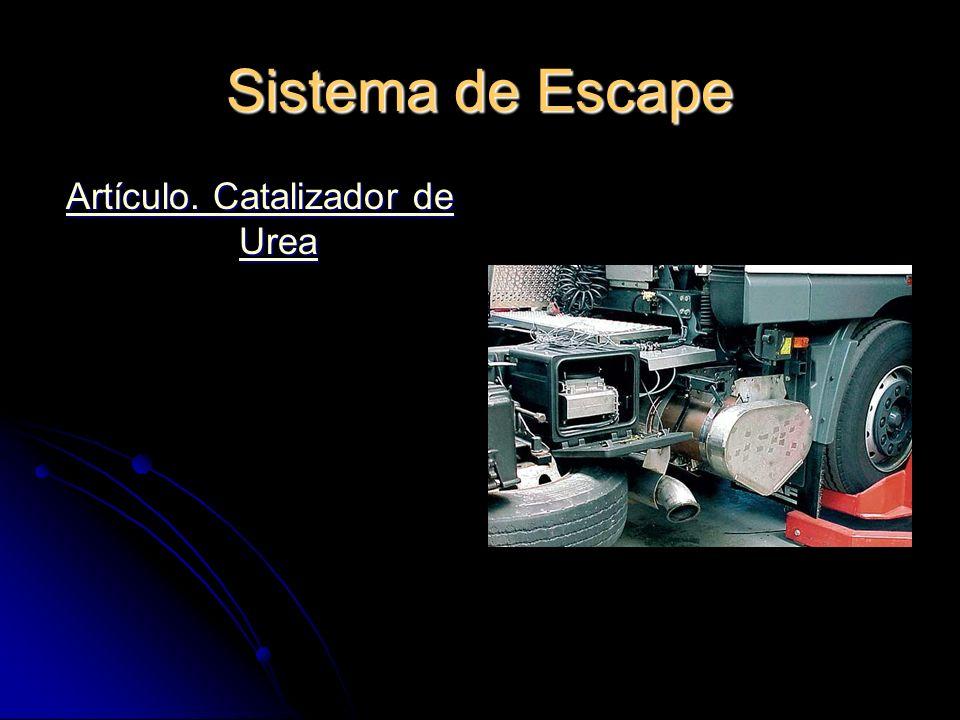 Artículo. Catalizador de Urea