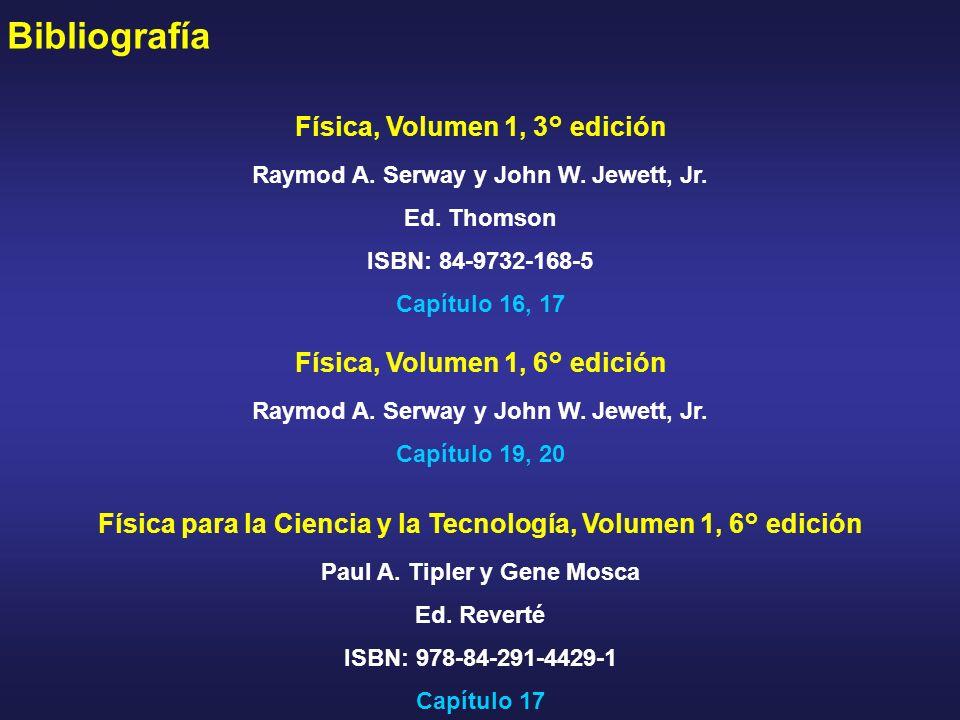 Bibliografía Física, Volumen 1, 3° edición
