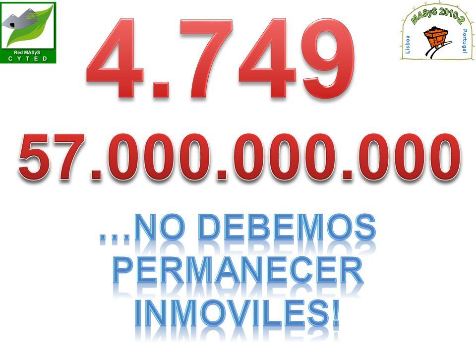 …NO DEBEMOS PERMANECER Inmoviles!