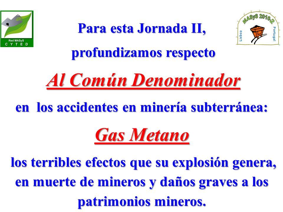 profundizamos respecto en los accidentes en minería subterránea: