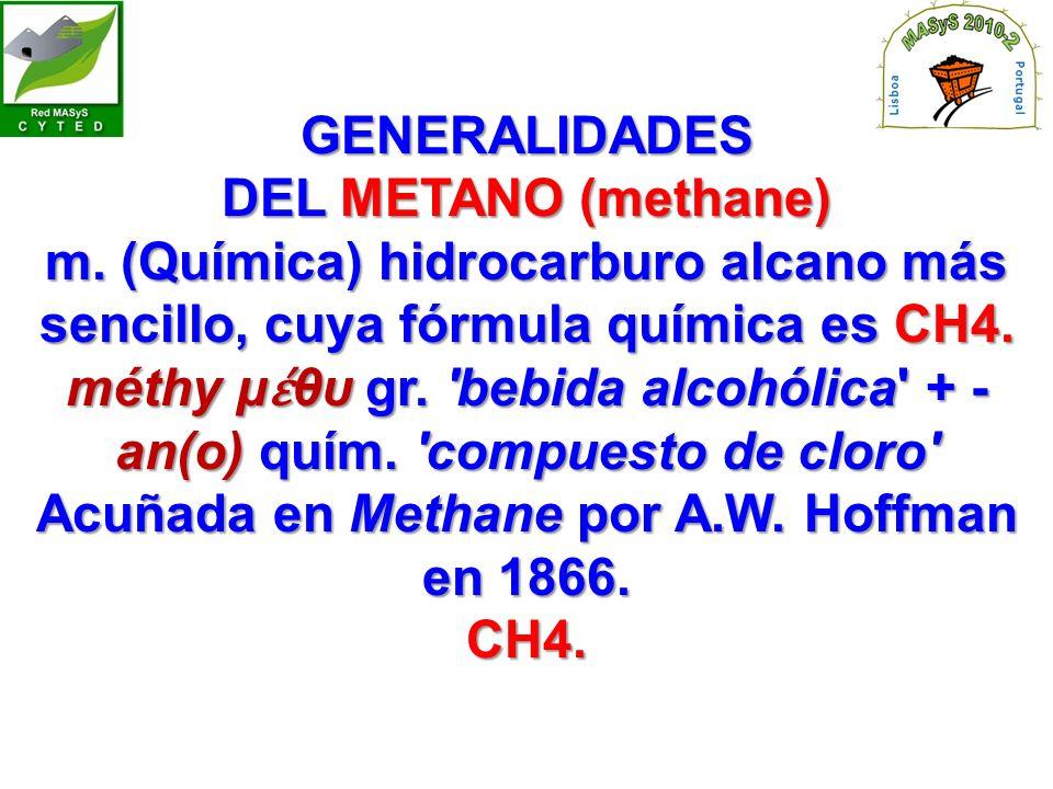 méthy μέθυ gr. bebida alcohólica + -an(o) quím. compuesto de cloro