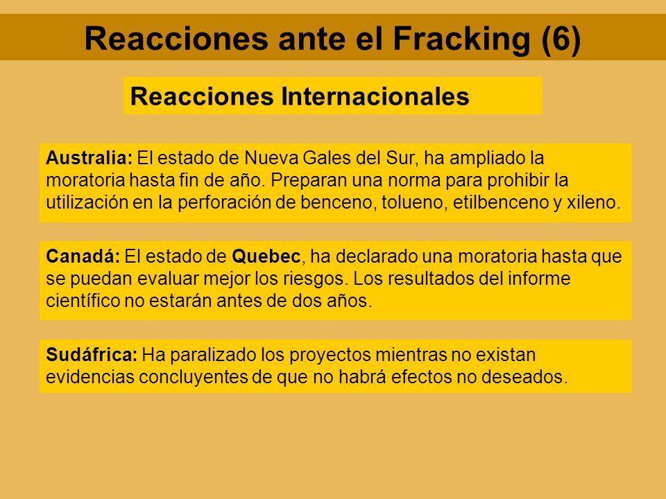 Reacciones ante el Fracking (6)