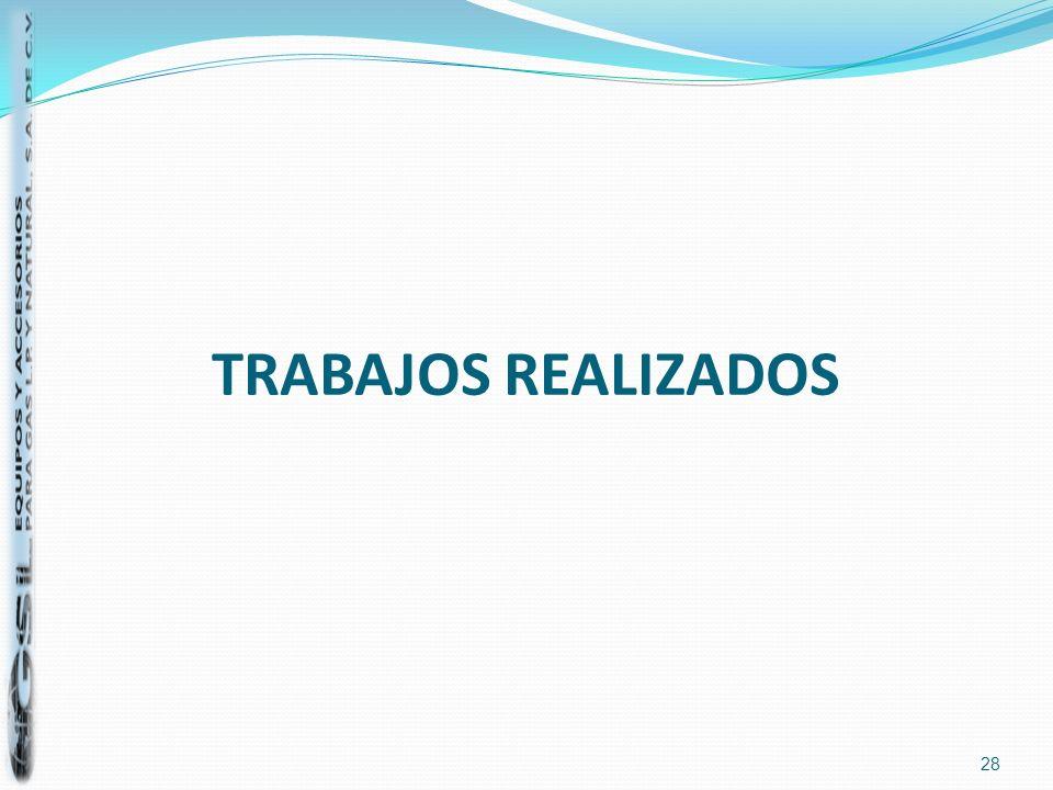 TRABAJOS REALIZADOS