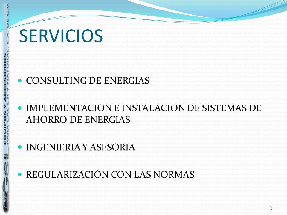 SERVICIOS CONSULTING DE ENERGIAS