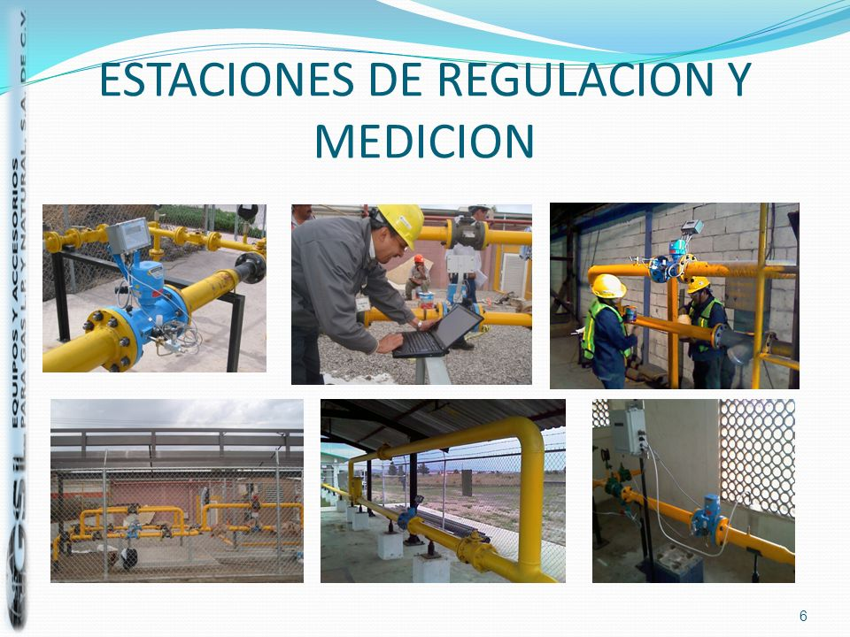 ESTACIONES DE REGULACION Y MEDICION