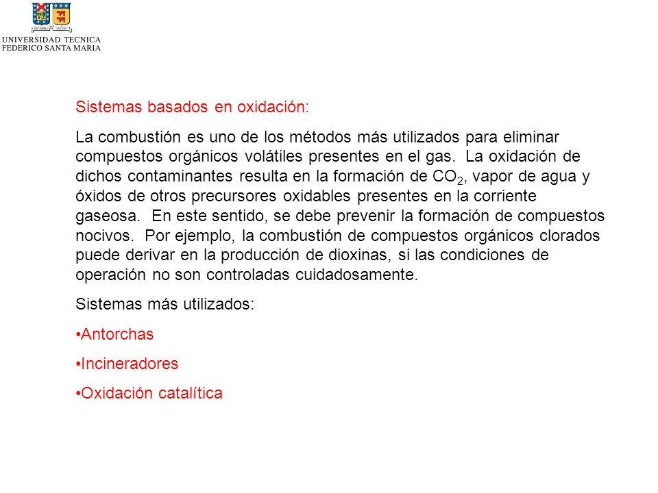 Sistemas basados en oxidación: