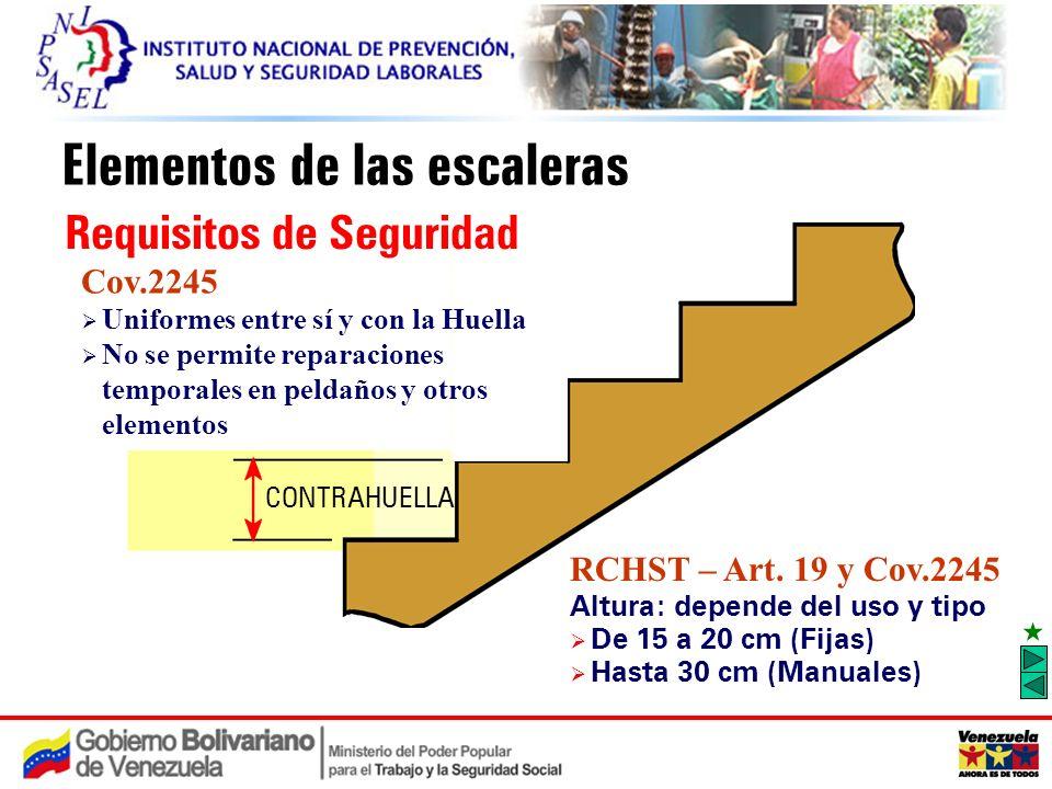 Medidas de prevenci n de caidas en el uso de escaleras for Huella y contrahuella medidas