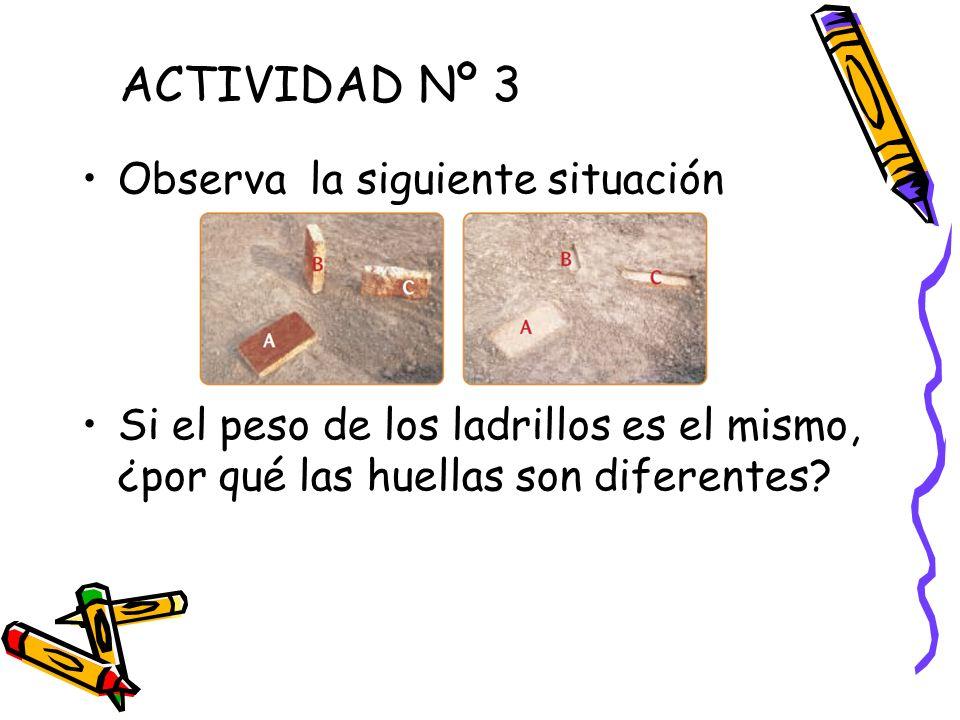 ACTIVIDAD Nº 3 Observa la siguiente situación