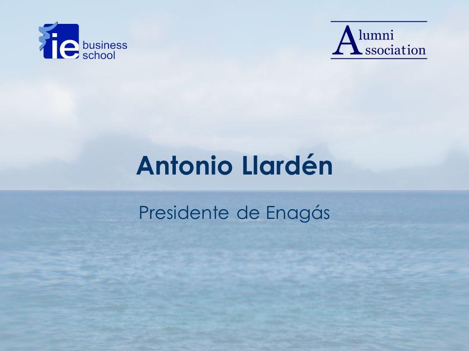 Antonio Llardén Presidente de Enagás