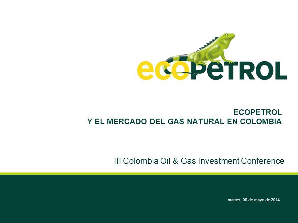 ECOPETROL Y EL MERCADO DEL GAS NATURAL EN COLOMBIA