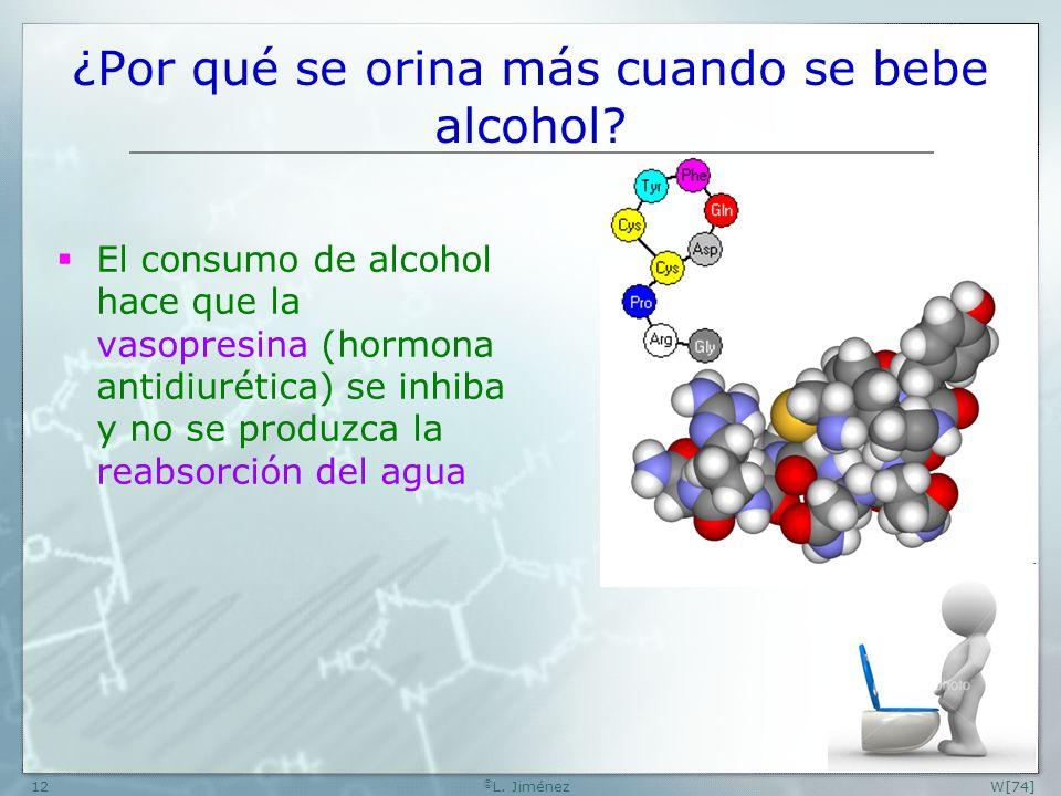 ¿Por qué se orina más cuando se bebe alcohol