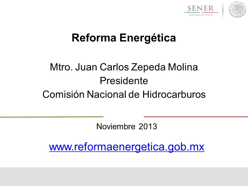 Reforma Energética Mtro