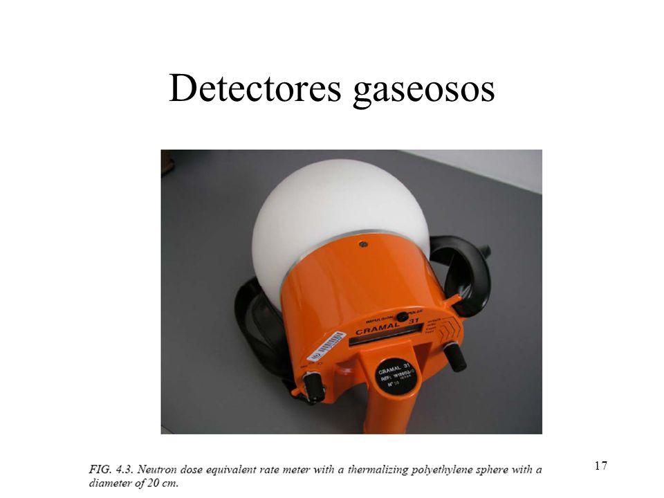 Detectores gaseosos
