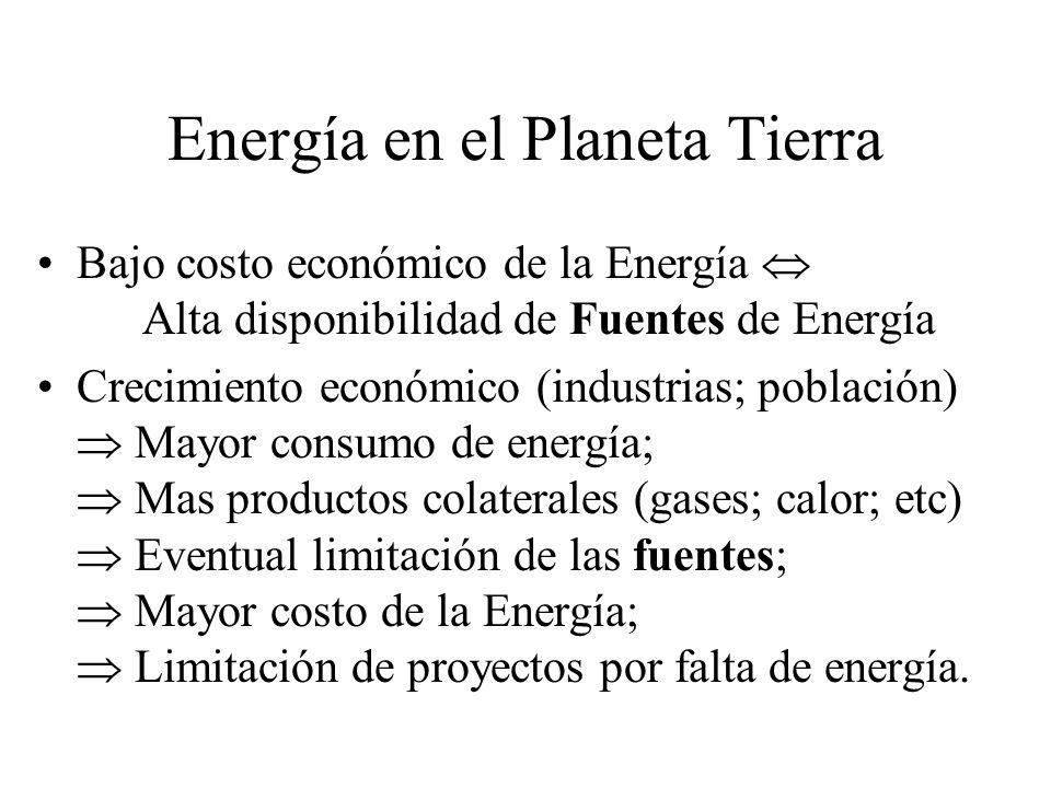 Energía en el Planeta Tierra