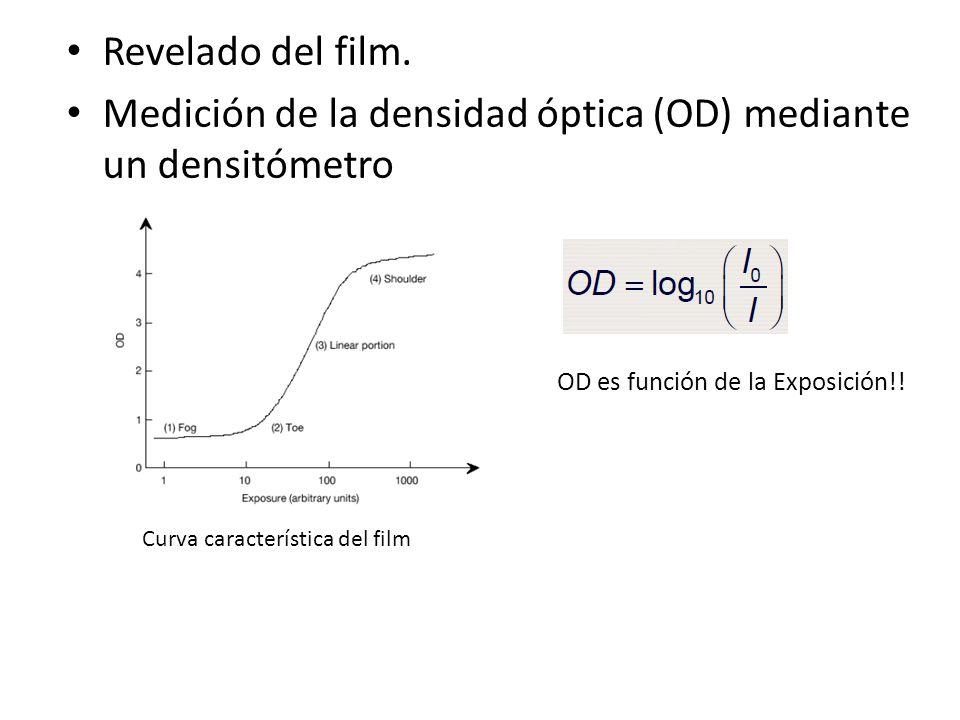 Medición de la densidad óptica (OD) mediante un densitómetro
