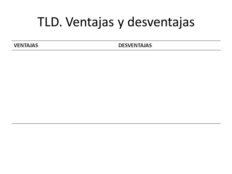 TLD. Ventajas y desventajas