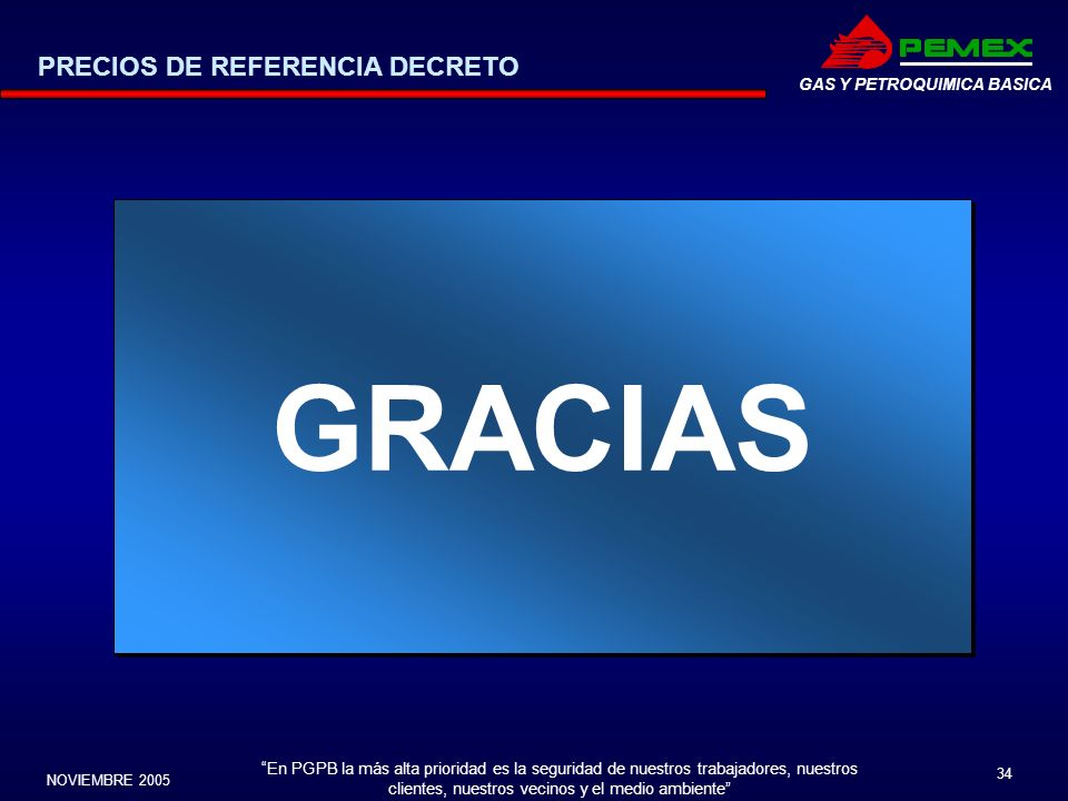 PRECIOS DE REFERENCIA DECRETO