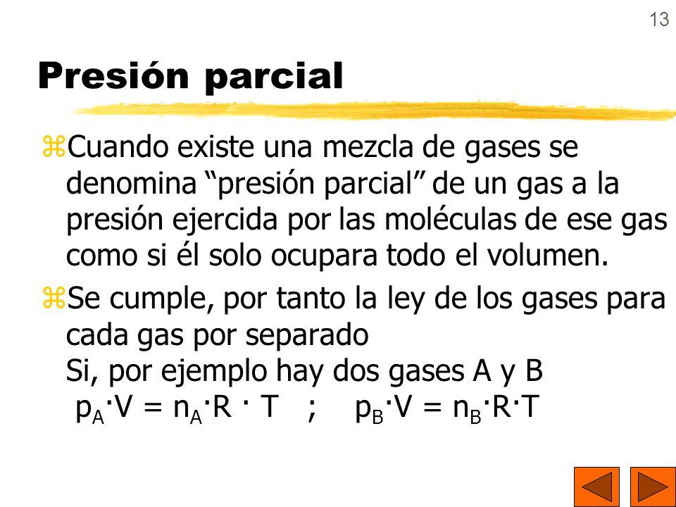 Presión parcial
