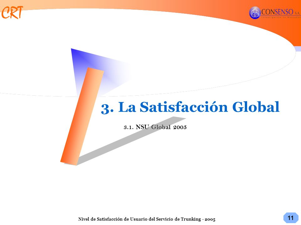 3. La Satisfacción Global