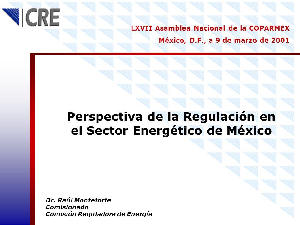 Perspectiva de la Regulación en el Sector Energético de México