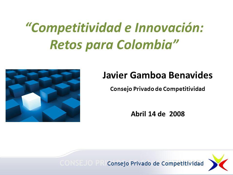 Competitividad e Innovación: Retos para Colombia