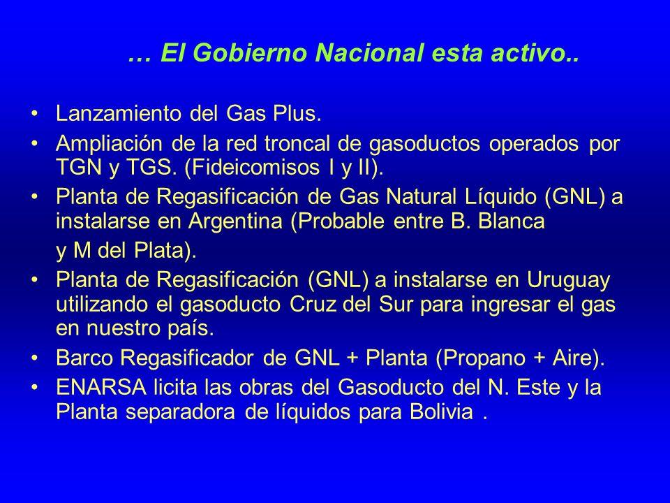 … El Gobierno Nacional esta activo..