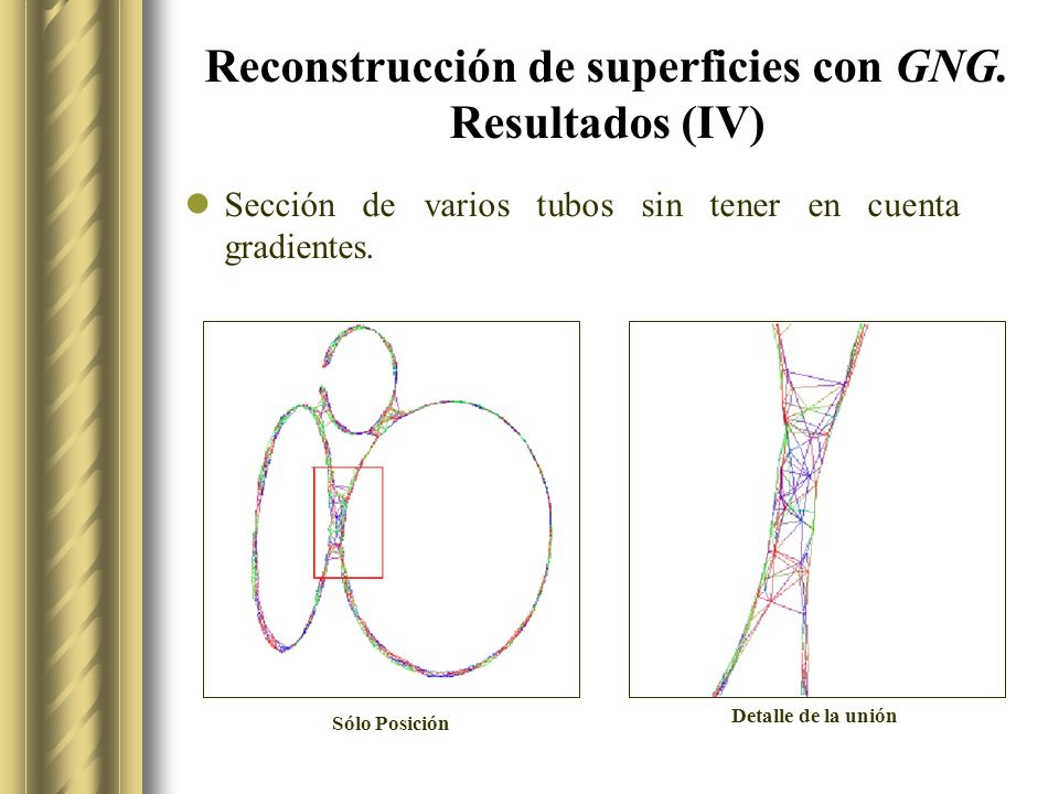 Reconstrucción de superficies con GNG. Resultados (IV)