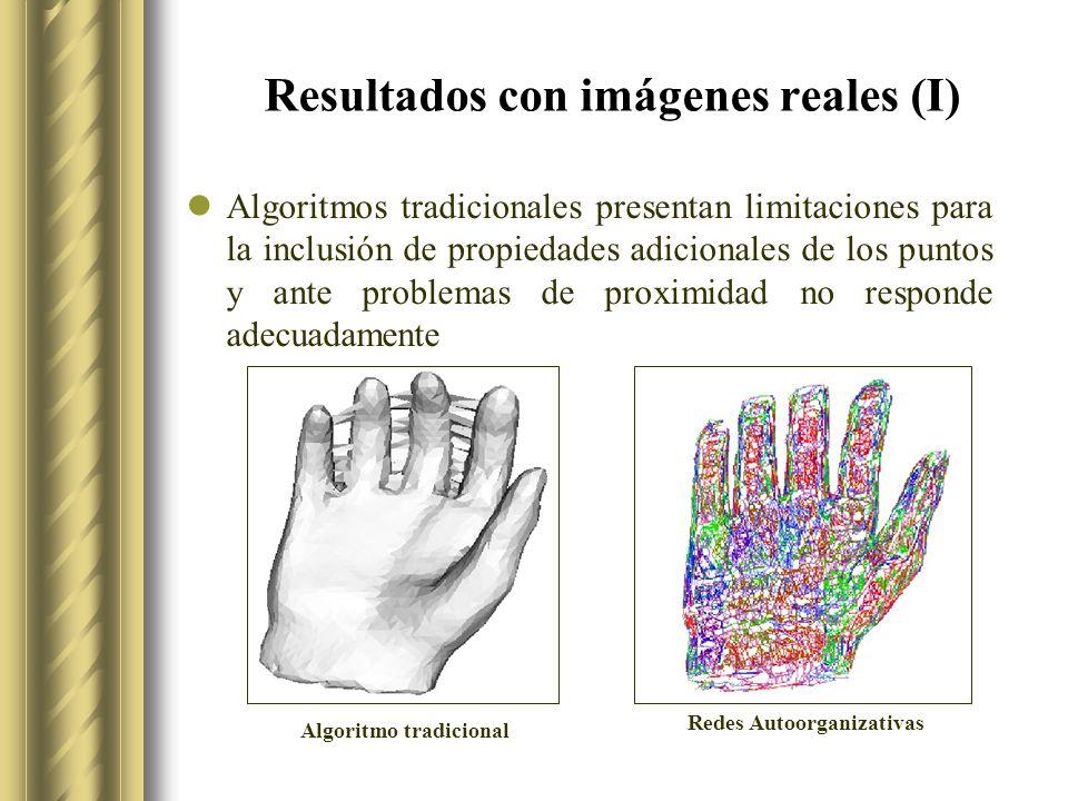 Resultados con imágenes reales (I)