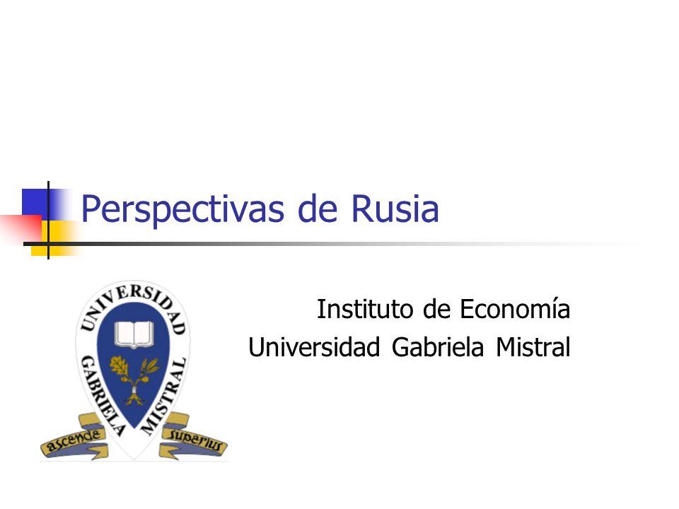 Instituto de Economía Universidad Gabriela Mistral