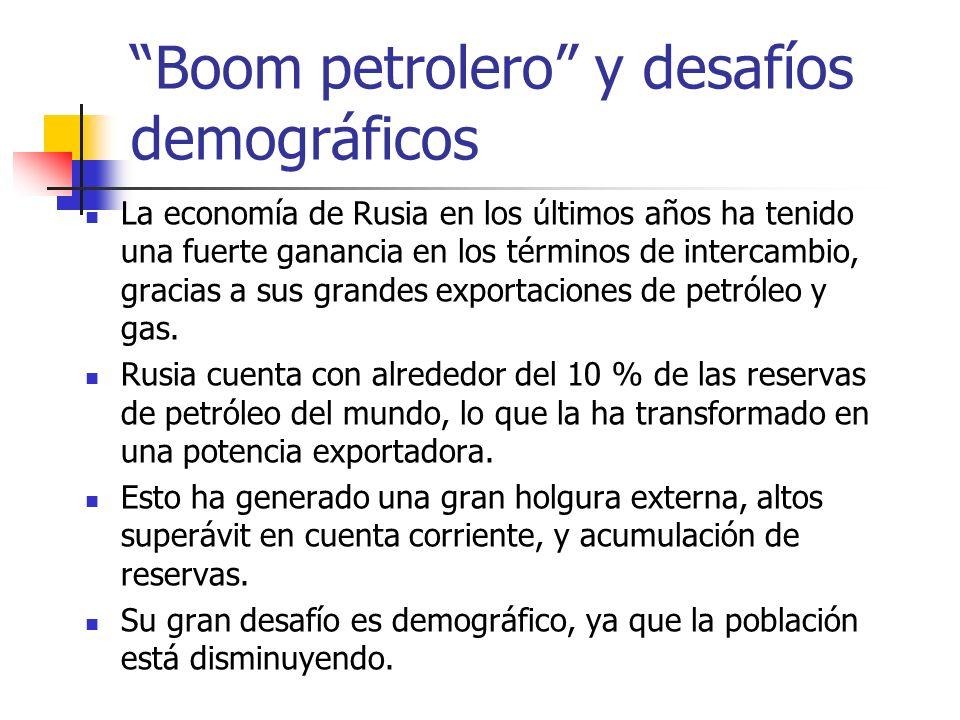Boom petrolero y desafíos demográficos