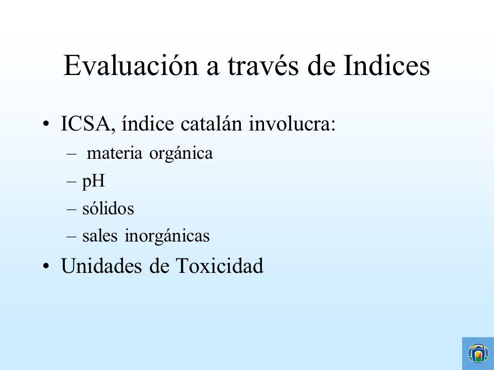 Evaluación a través de Indices
