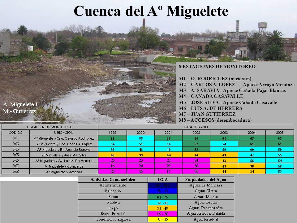 Cuenca del Aº Miguelete