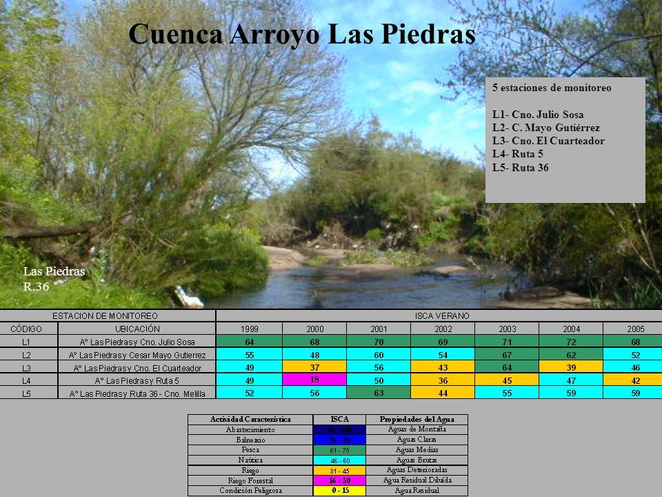 Cuenca Arroyo Las Piedras