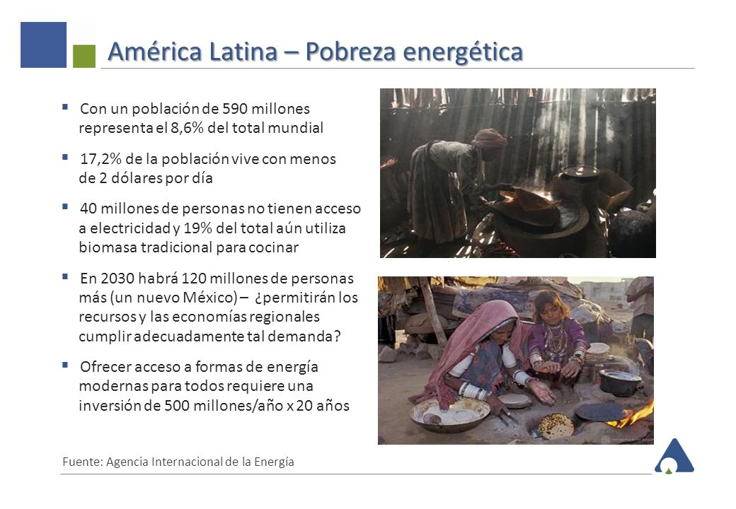 América Latina – Pobreza energética