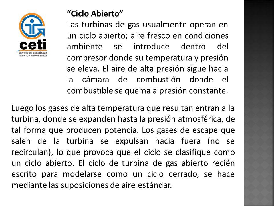 Ciclo Abierto