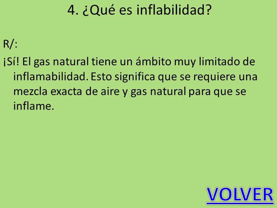 VOLVER 4. ¿Qué es inflabilidad