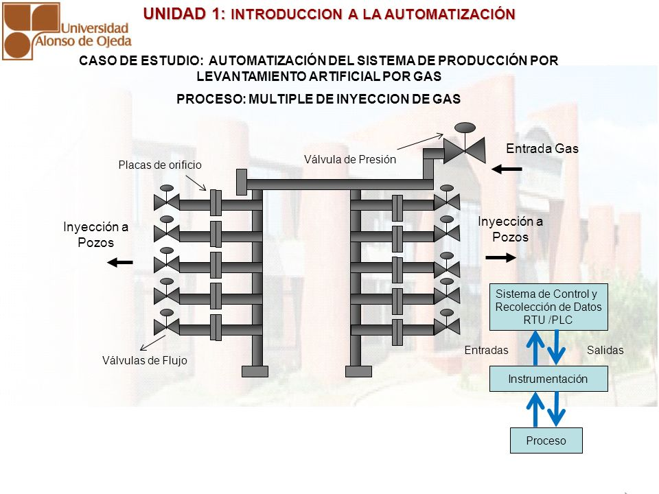 PROCESO: MULTIPLE DE INYECCION DE GAS
